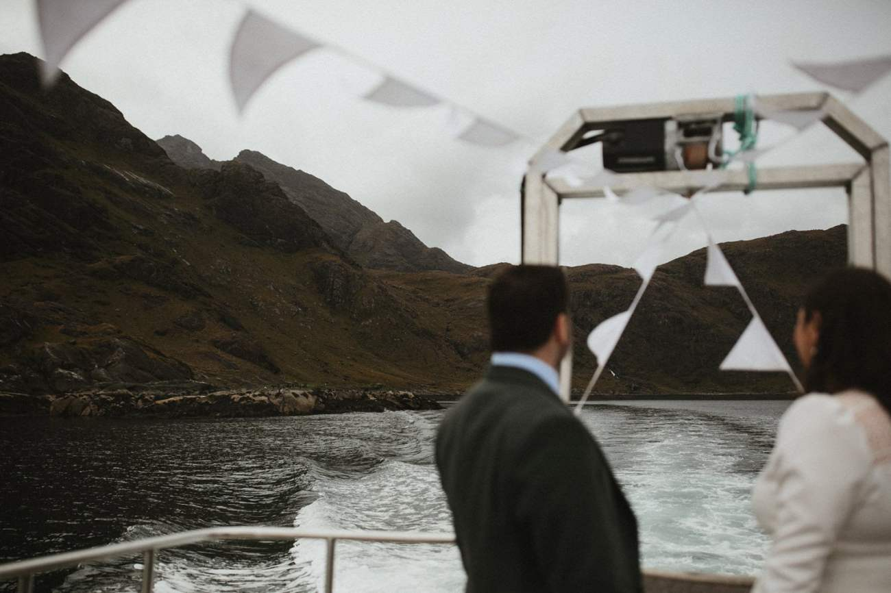 Boat to Loch Coruisk Wedding