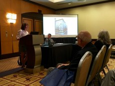 "Mary Anne Trasciatti speaks on ""Engaged Spectatorship at the Site of the 1911 Triangle Shirtwaist Factory Fire"""
