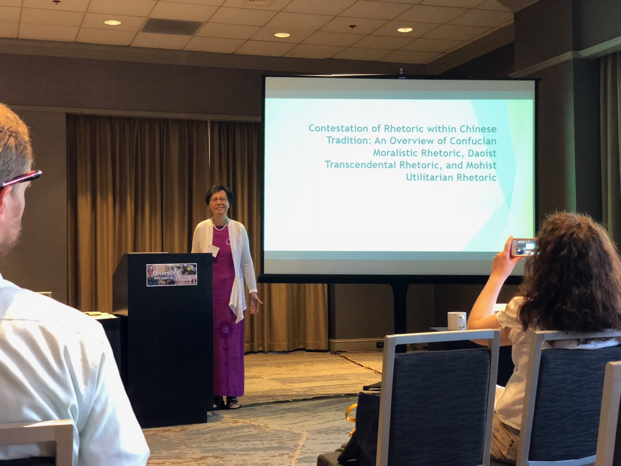 "Xing Lu, DePaul University, ""Contestation of Rhetoric within the Chinese Tradition: An Overview of Confucian Moralistic Rhetoric, Daoist Transcendental Rhetoric, and Mohist Utilitarian Rhetoric"""