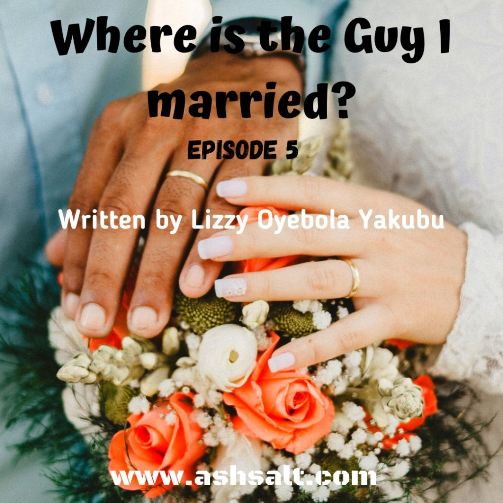 WHERE ID THE GUY I MARRIED? 5