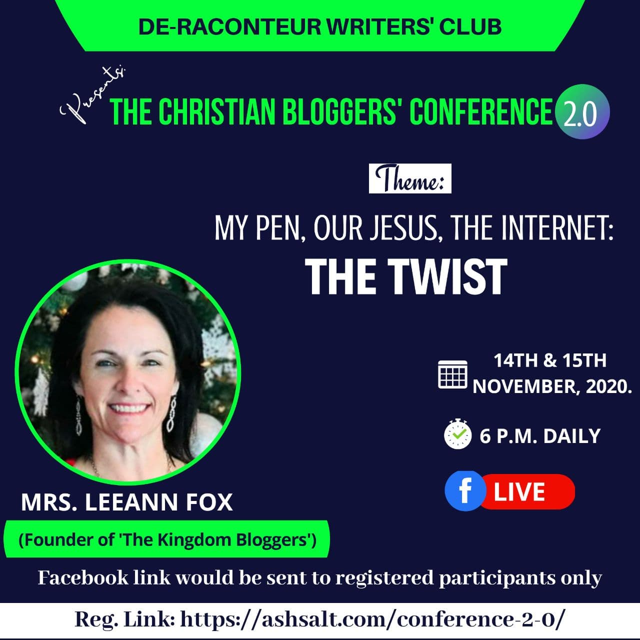 The Christian Bloggers Conference 2.0