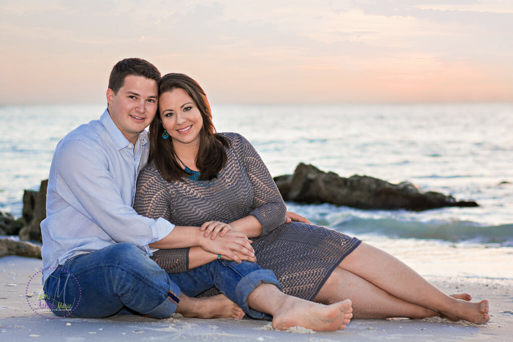 Engagement photos Naples, FL