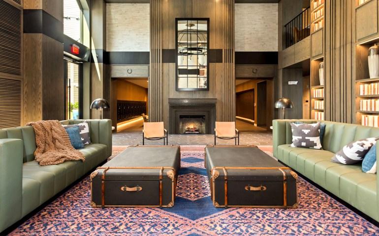 Vyne One Loudoun building lobby