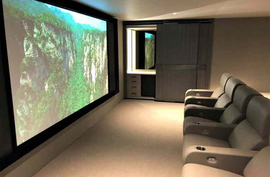 Ibiza Home Cinema Project