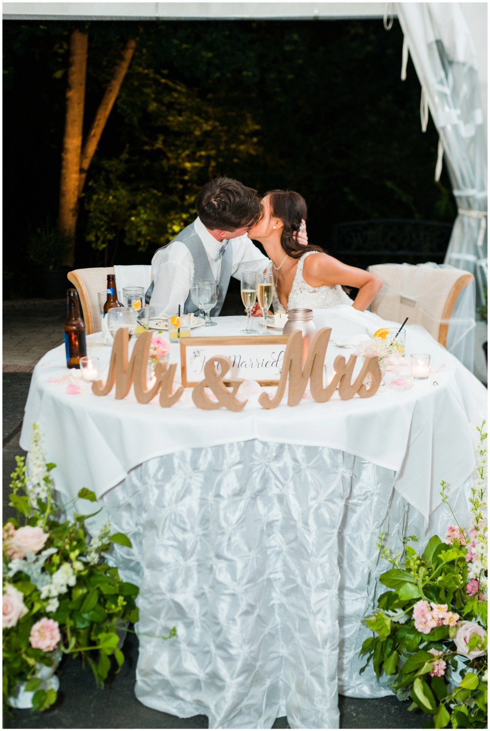 sweetheart table elkridge furnace inn maryland wedding photographer