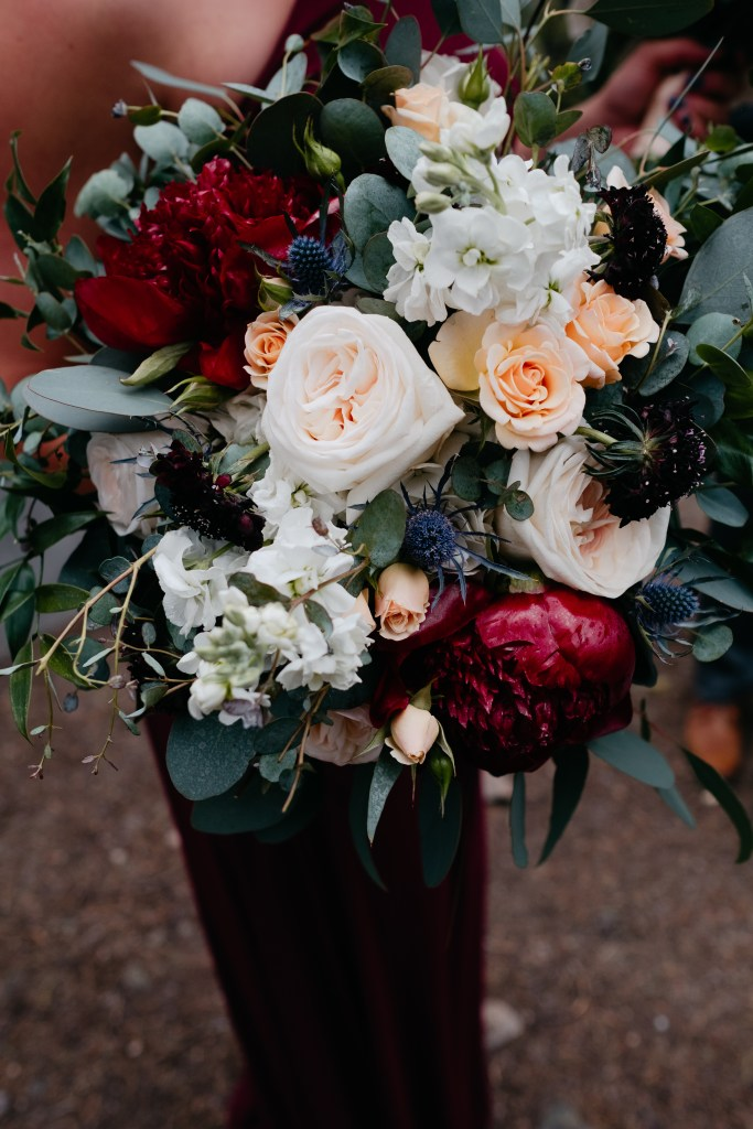 Gorgeous florals by Garden of Eden in Frisco, Colorado.