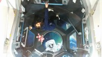 in space!