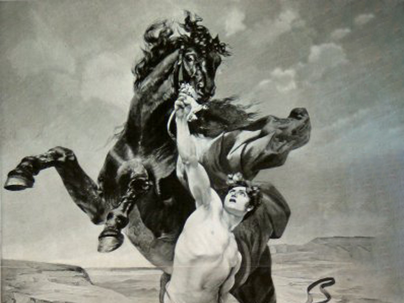 BUCEPHALUS – THE HORSE WHO DECLARED ALEXANDER'S ARRIVAL