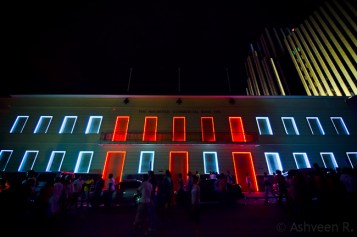 Porlwi by Light - The old Mauritius Commercial Bank