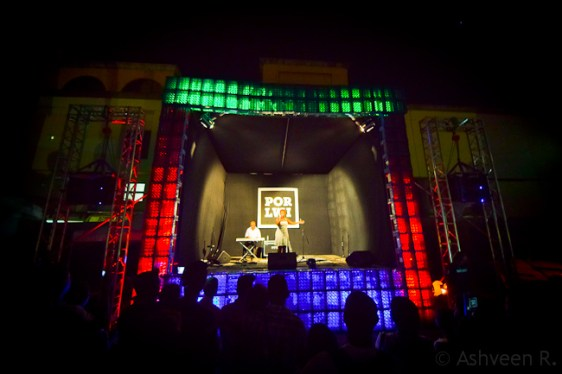 Porlwi by Light - Live Music Performance - Linzy Raya