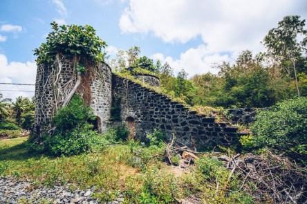 Bras D'Eau Lime Mill Ruins