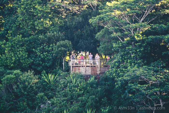 Chamarel Falls Mauritius Visitors