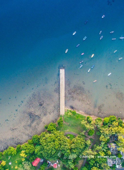Drone Mauritius - La Gaulette