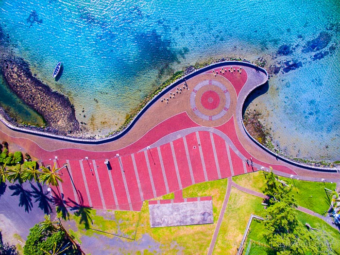 Drone Mauritius-Mahebourg Waterfront