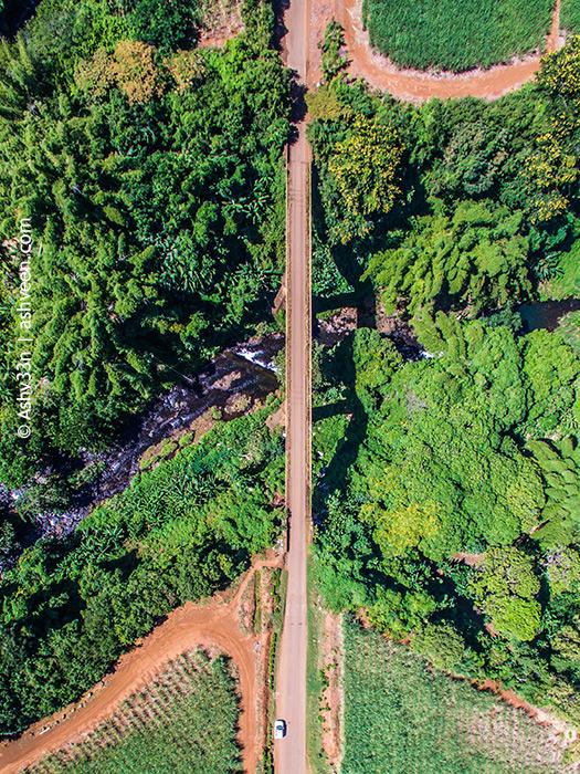 Drone Mauritius - Senneville Bridge Riviere des Anguilles