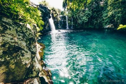 Eau Bleue Waterfall 1
