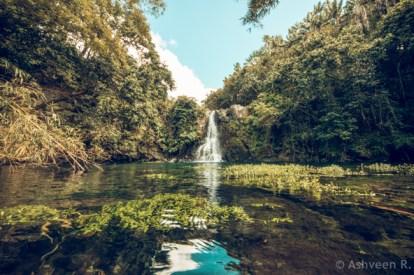 Eau Bleue Waterfall 2