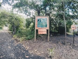 Hiking Le Morne Mountain-Trail Start