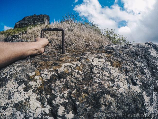 Hiking Trois Mamelles - Metal Trap