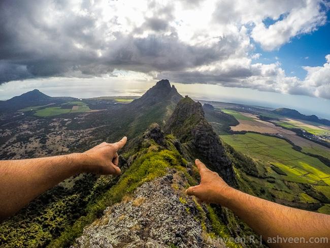 Hiking Trois Mamelles - Lets Get Back