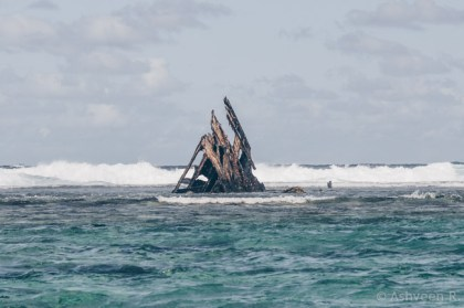 Instameet Mauritius - A Day at Ile des Deux Cocos - The Dalblair Wreck