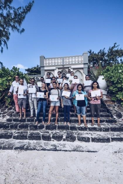 Instameet Mauritius - A Day at Ile des Deux Cocos - Group Shot
