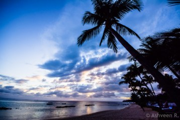 Instameet Mauritius: Tamassa Resort - Sunset Time
