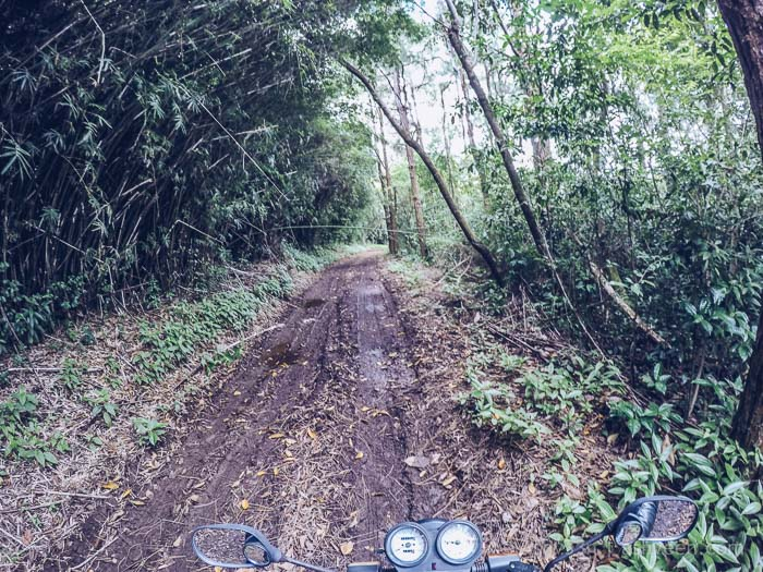 A Visit to Kanaka Crater - Straight Through Mud