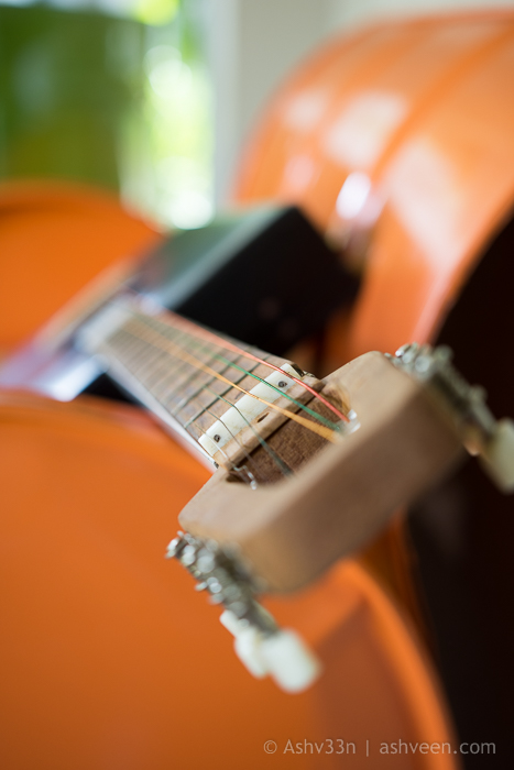 Lux Belle Mare Mauritius Junk Art Guitar
