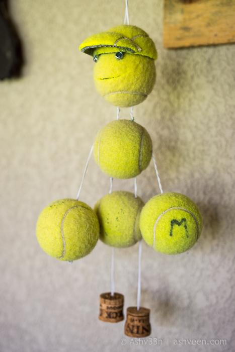Lux Belle Mare Mauritius Junk Art Tennis Boy