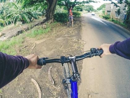 MTB Mauritius - Back to Bassin Estate