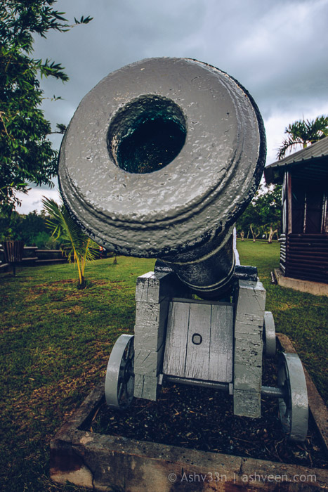 Monuments Day Apr 2017 Mauritius-State House Canon
