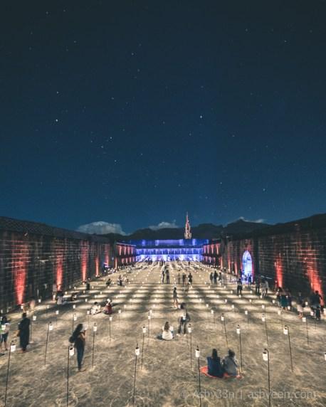 Porlwi by Nature - Citadel - Solar Jars Sky
