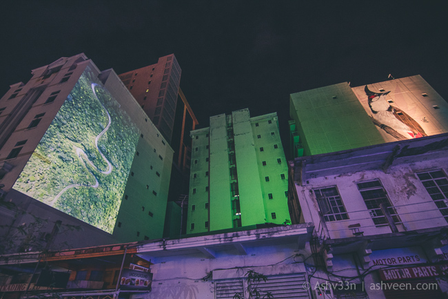 Porlwi by Nature - Bourbon Street - Projection