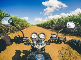 Road Trip Mauritius - Surinam - Rochester Falls - Haojue 125