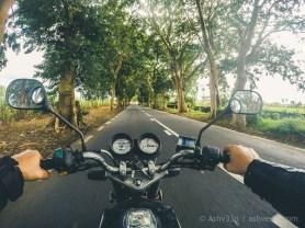 Road Trip Mauritius - Britannia - Haojue 125