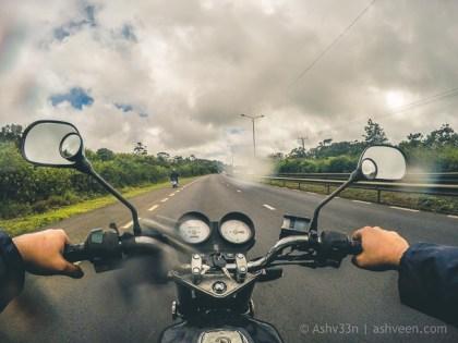 Road Trip Mauritius - Midlands - Haojue 125 & Vespa