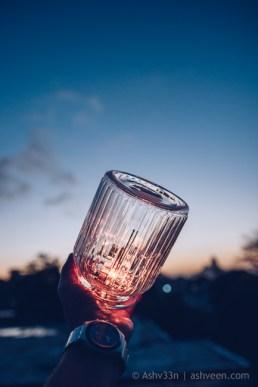 Experimental Photography: Sparkle My Hand
