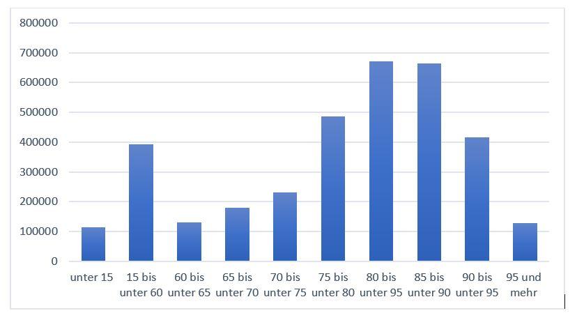 Pflege-Pflegeversicherung-Kosten-sinnvoll-Altergruppen-Wahrscheinlichkeit-Statistik-Zahlen