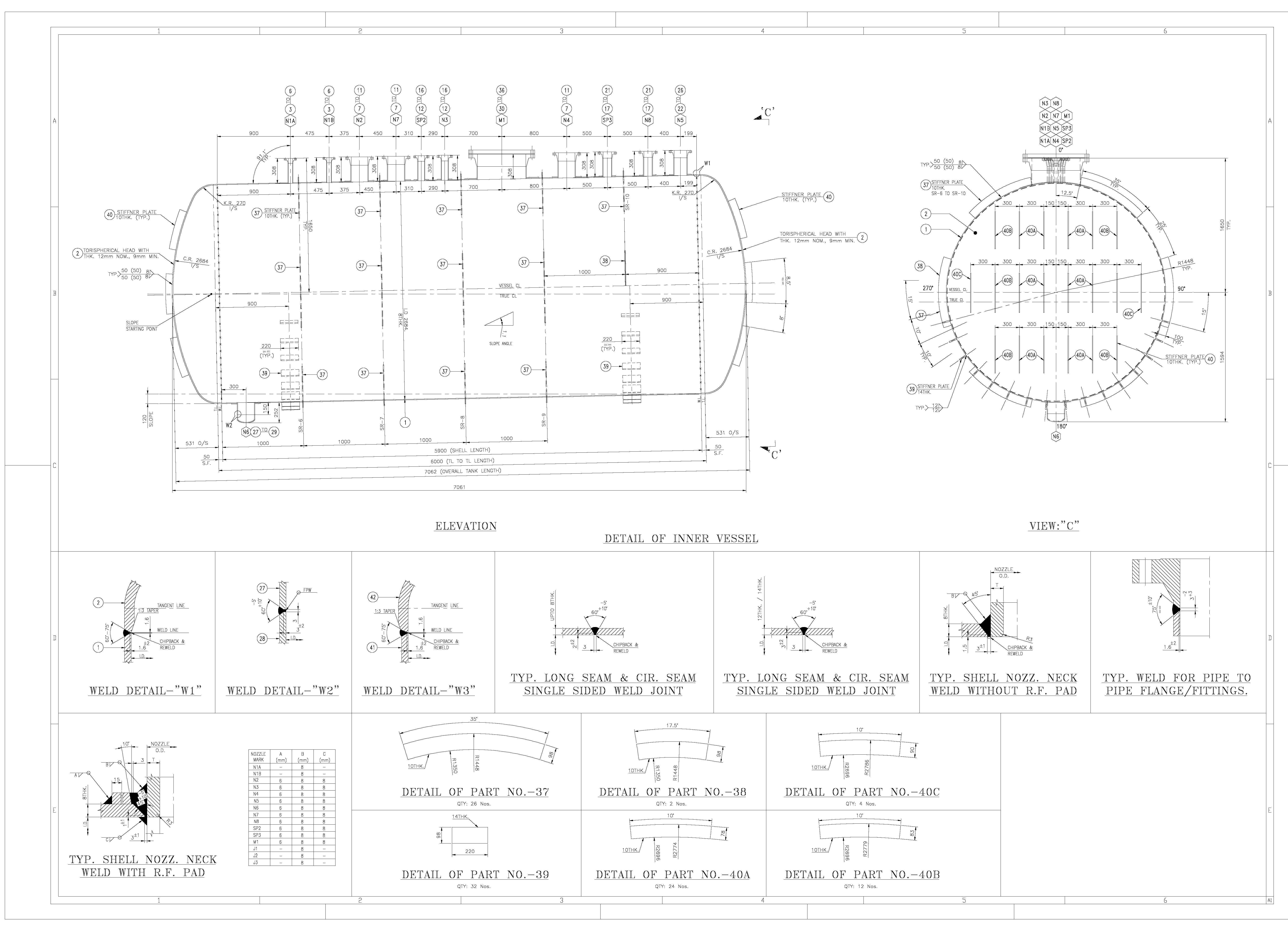 Sel Tank Drawing