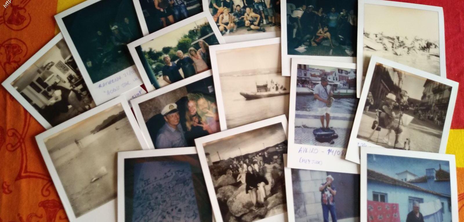 Fotos Polaroid durante el Camino 2017