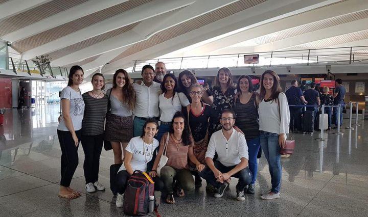 """""""Hasta luego"""" en el aeropuerto"""