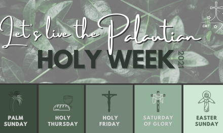 JOURNEY OF THE PALAUTIAN HOLY WEEK
