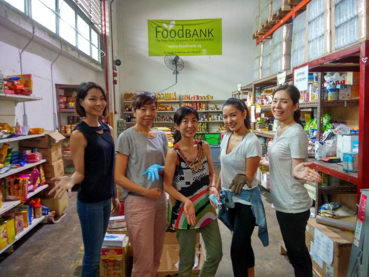 シンガポールでボランティア 活動へ!Food Bank Singaporeのに行ってきました!with Spoonful×TSUBAKI(国際結婚の日本人ワイフのコミュニティ)
