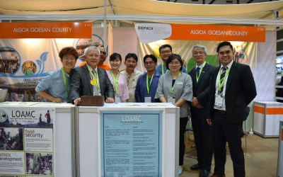 IFOAM Asia, Goesan County and ALGOA at the BIOFACH SEA, Bangkok Thailand