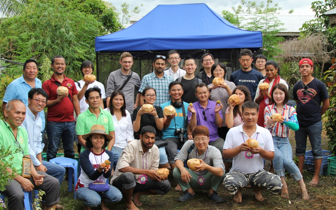 The 2018 IFOAM Asia Organic Youth PreTour in the Philippines