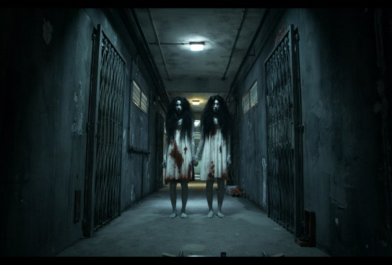 """Twin ghosts from the movie """"Rigor Mortis"""""""