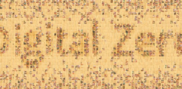 Composite of 700 images from the Freer Ramayana.