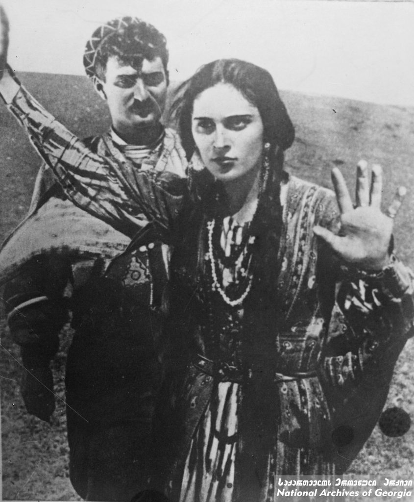 """Film still from """"Eliso"""" (Courtesy of National Archives of Georgia)"""