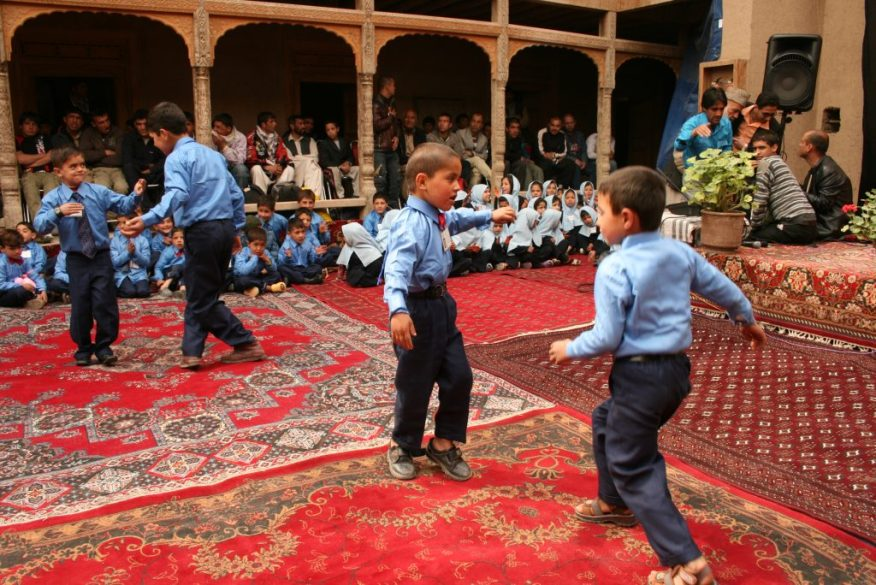 Since 2006 Turquoise Mountain has worked in partnership with the community of Murad Khani, providing employment, education, healthcare, and a renewed sense of pride. Image courtesy Turquoise Mountain
